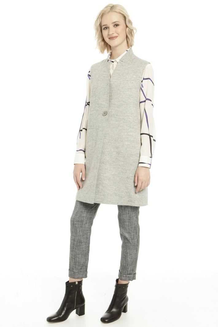 Gilet in feltro di pura lana Fashion Market