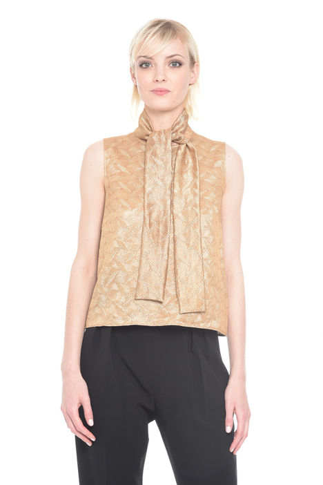 Top in jacquard lurex Diffusione Tessile