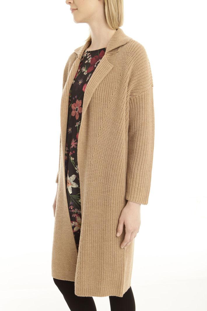 Capospalla in maglia a coste Fashion Market