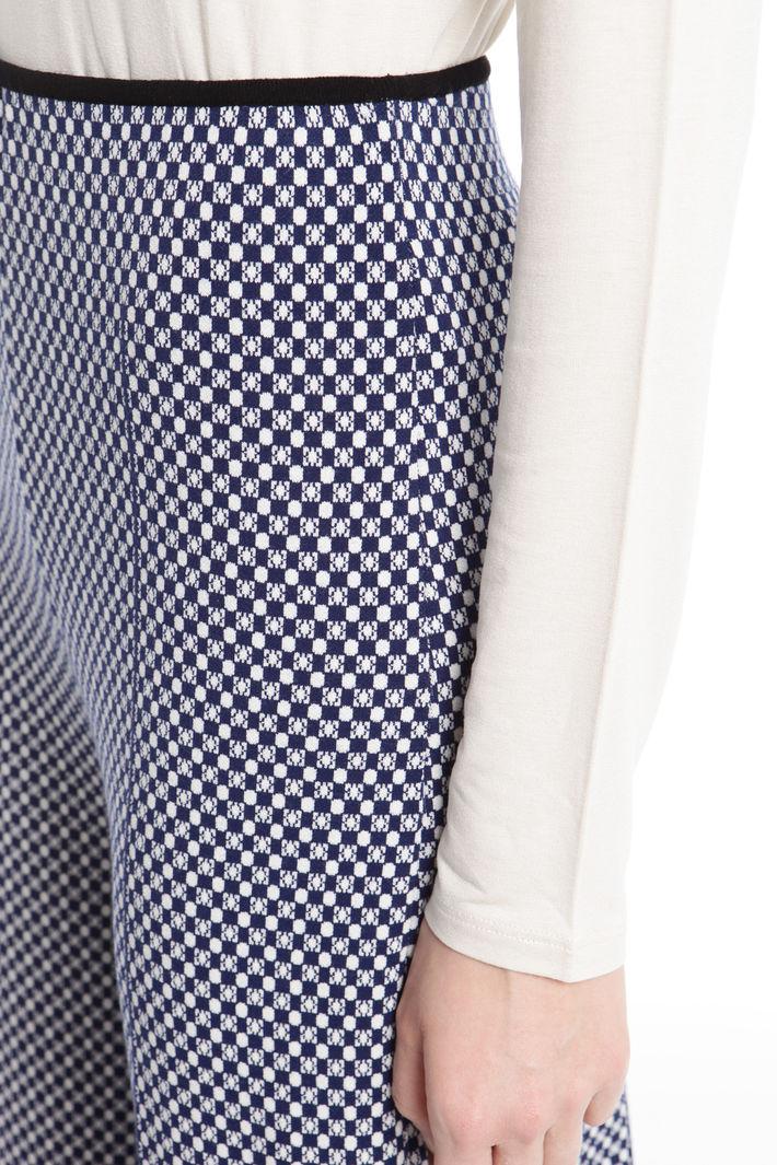 Pantaloni palazzo in maglia Diffusione Tessile