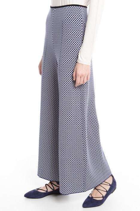 Pantaloni palazzo in maglia Intrend