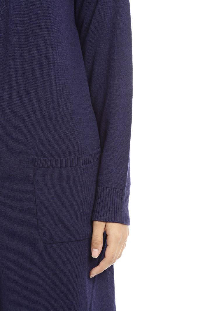 Cardigan lungo in lana vergine Fashion Market