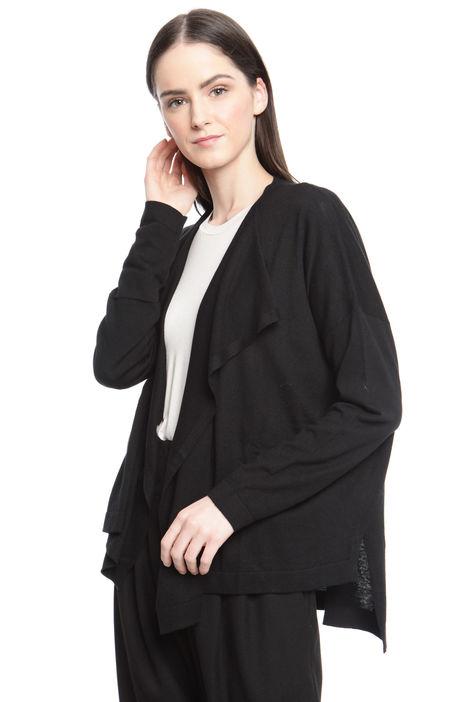 Cardigan in cotone e seta Diffusione Tessile