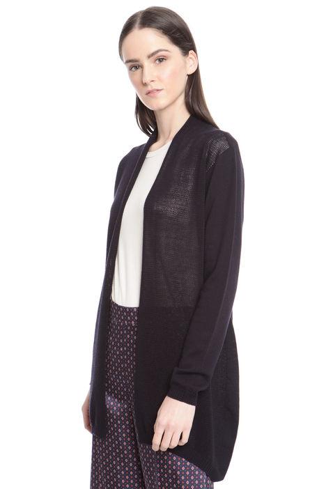 Cardigan in lana leggera Diffusione Tessile