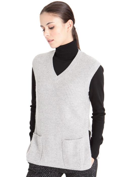 Gilet in lana e cashmere Diffusione Tessile