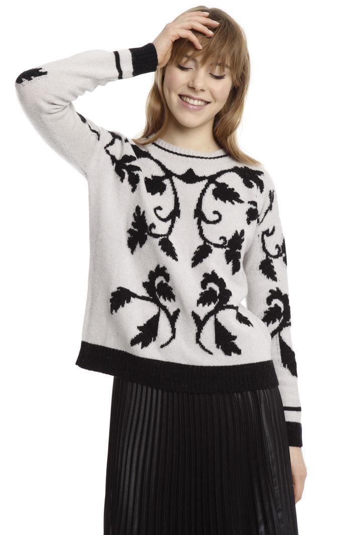 Maglia a fantasia in alpaca Fashion Market