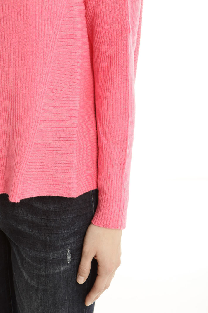 Maglia in lana a costine Fashion Market