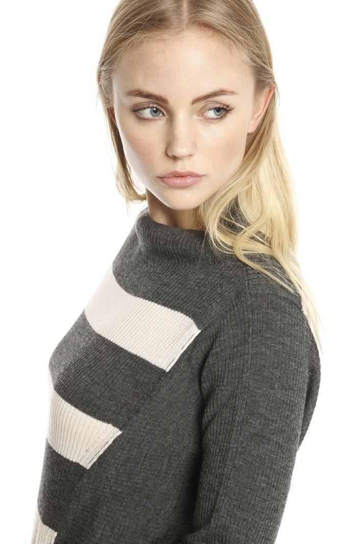 Maglia boxy a costine Fashion Market