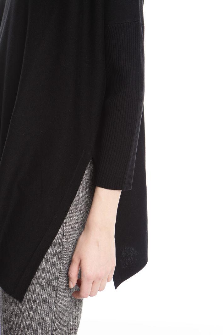 Maglia over con spacchi Fashion Market