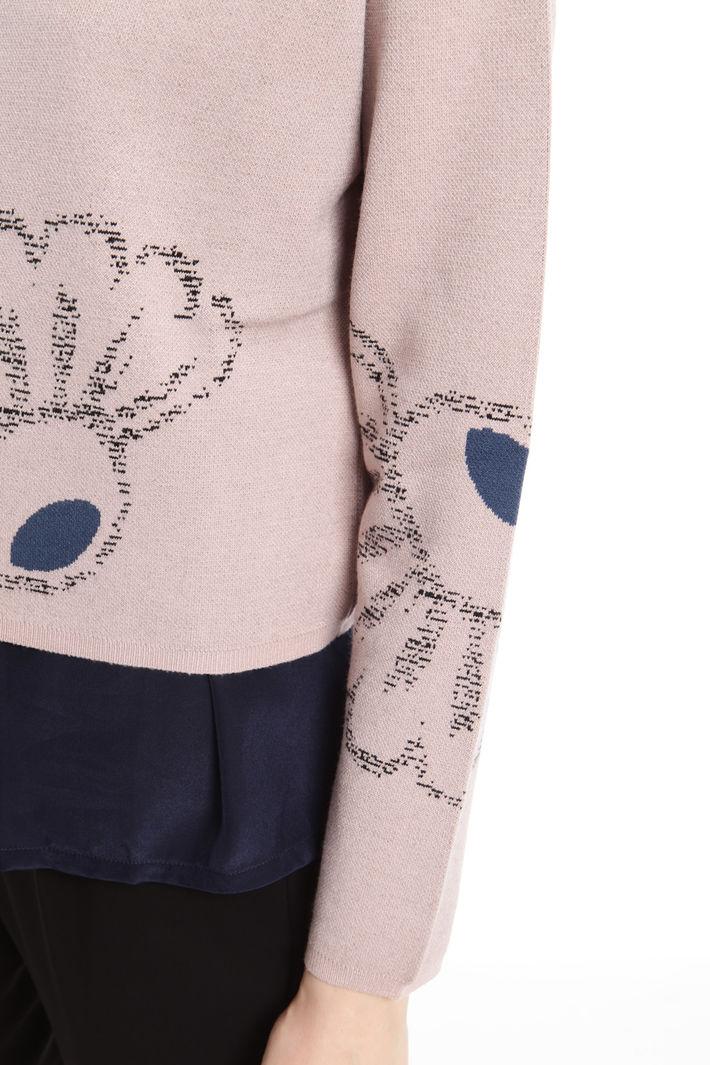 Maglia macrofiori boxy Fashion Market