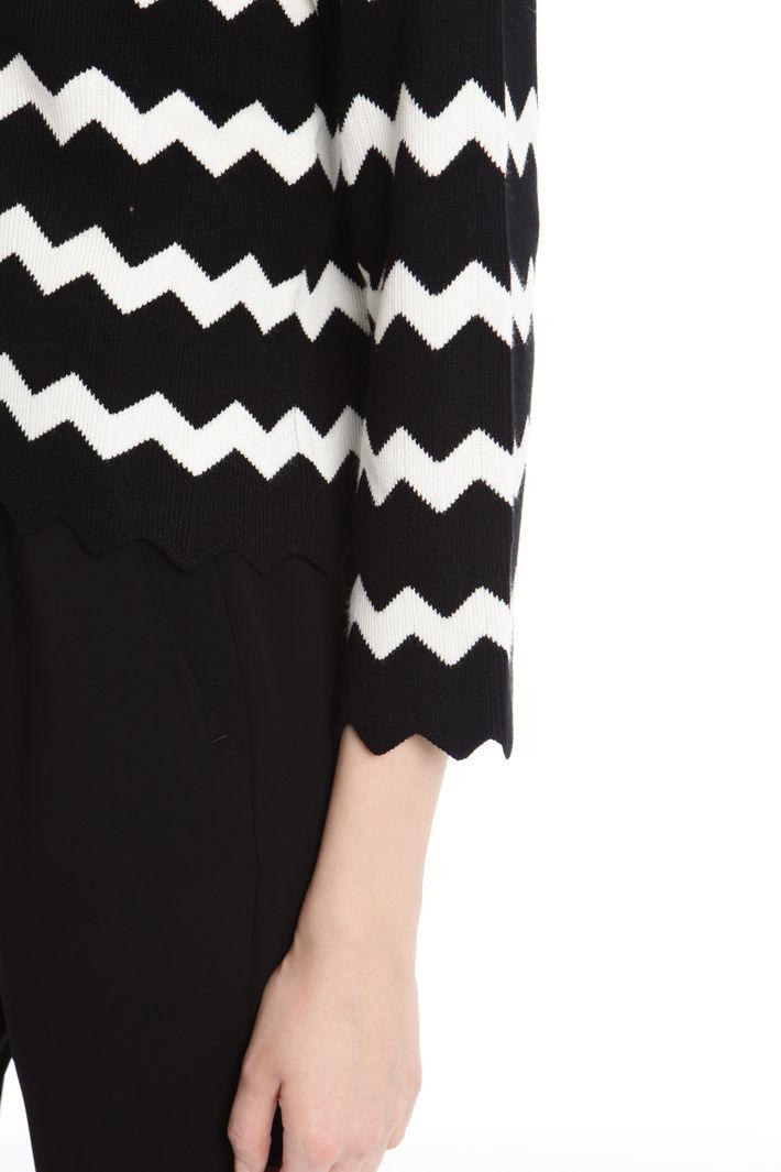 Maglia boxy chevron Fashion Market