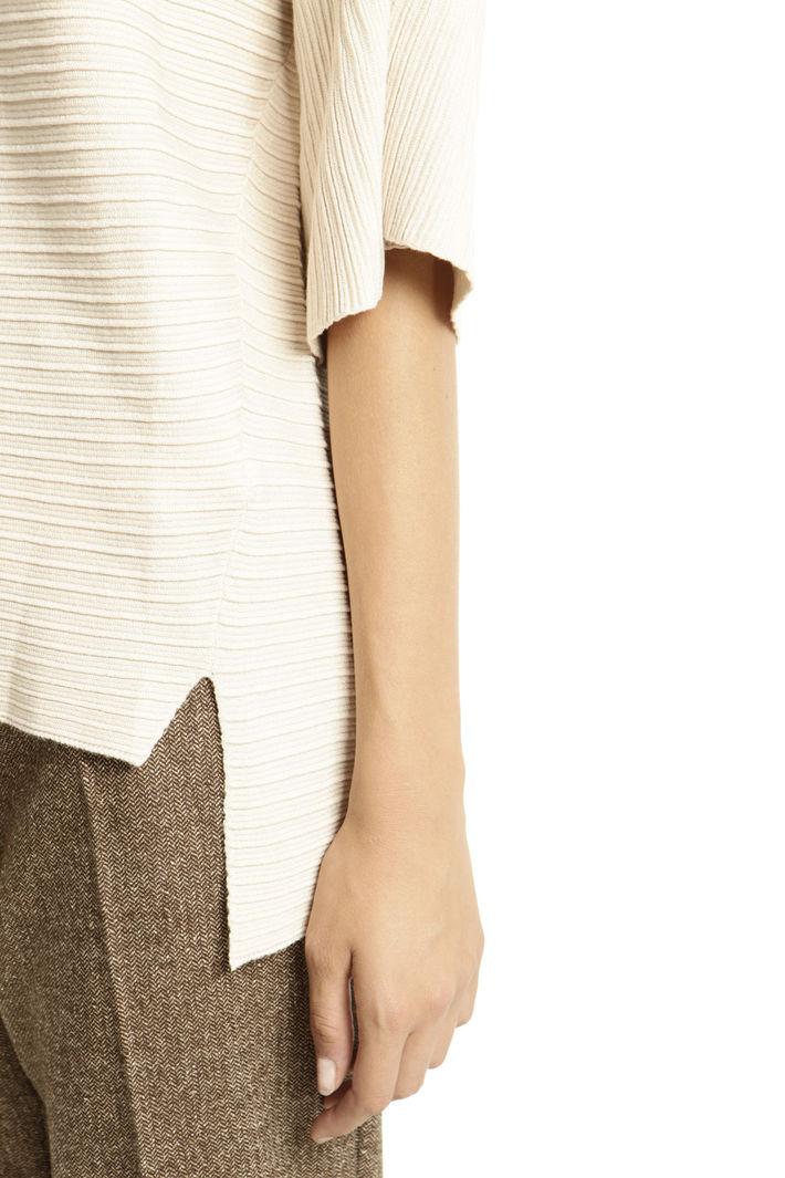 Maglia con venature e spacchi Fashion Market