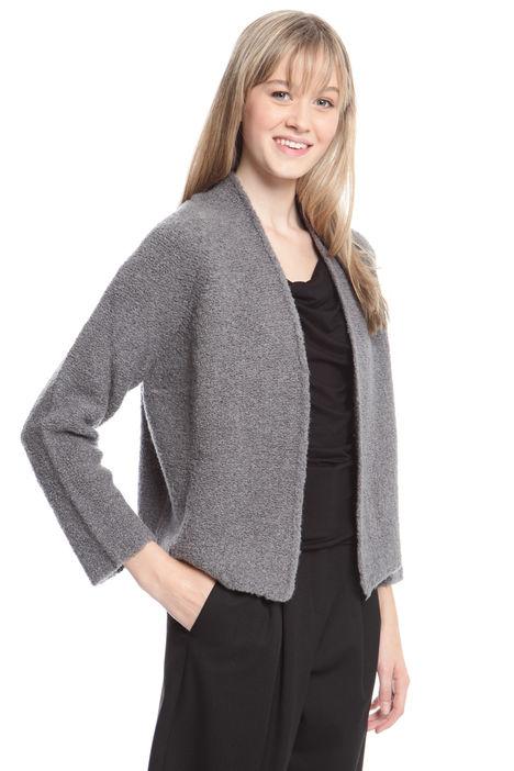 Cardigan in lana bouclé Diffusione Tessile