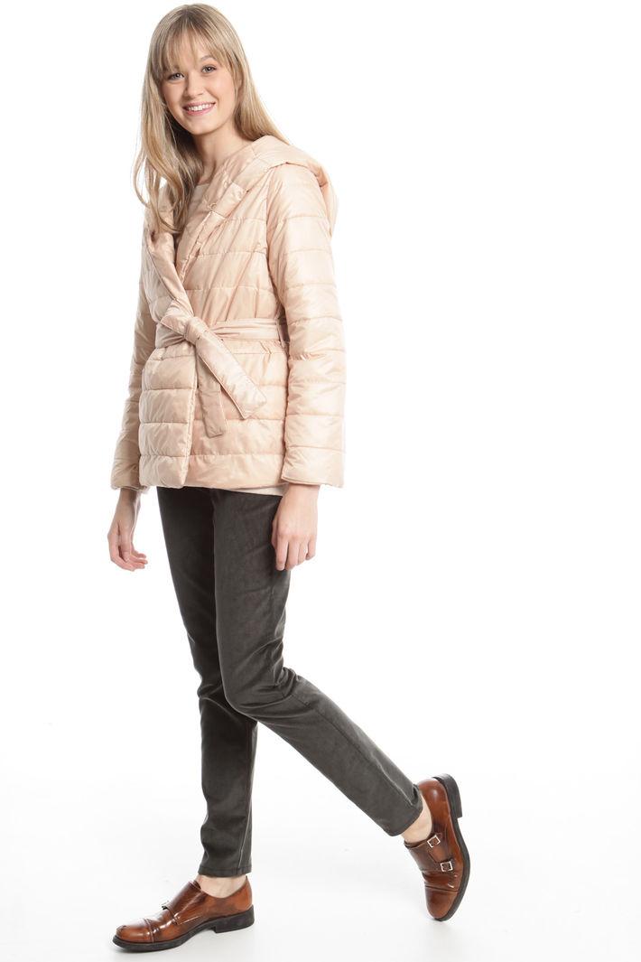 Imbottito corto con cappuccio Fashion Market