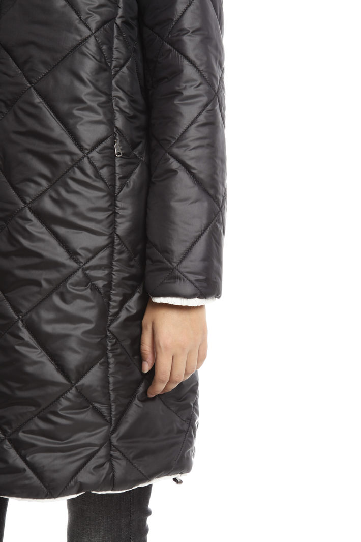 Imbottito medio con cappuccio Fashion Market