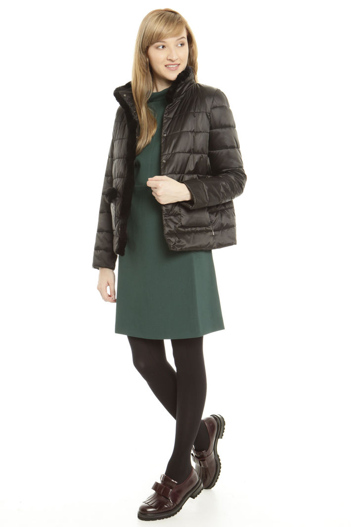 Imbottito con profili in lapin Fashion Market