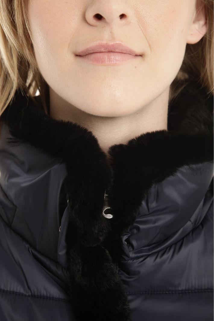 Imbottito bordato in pelliccia Fashion Market