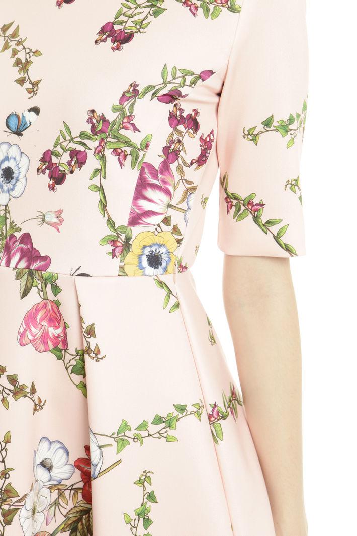 Abito fantasia con cintura Fashion Market