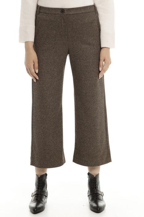 Pantaloni cropped in jersey Diffusione Tessile