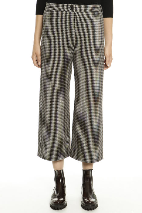Pantaloni cropped in jersey Diffusione Tessile