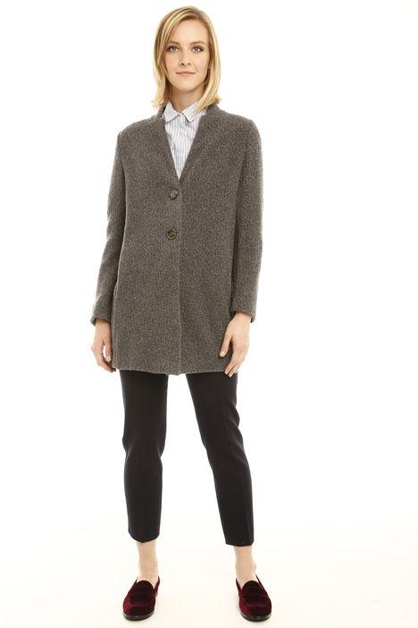 Giacca in lana bouclè Diffusione Tessile