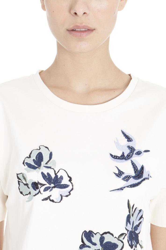 T-shirt ricamata a mano Diffusione Tessile