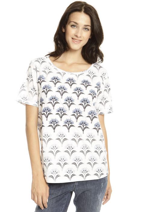 T-shirt con stampa Diffusione Tessile