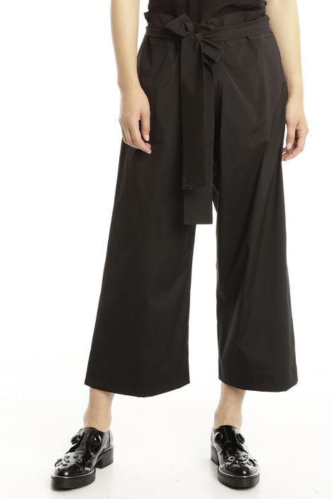 Pantalone cropped in taffetà stretch Diffusione Tessile