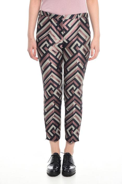 Pantaloni jacquard Diffusione Tessile