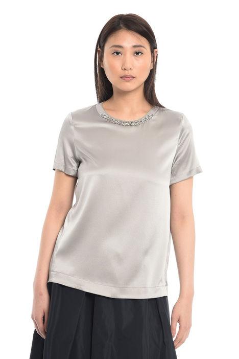 T-shirt in raso di seta Diffusione Tessile