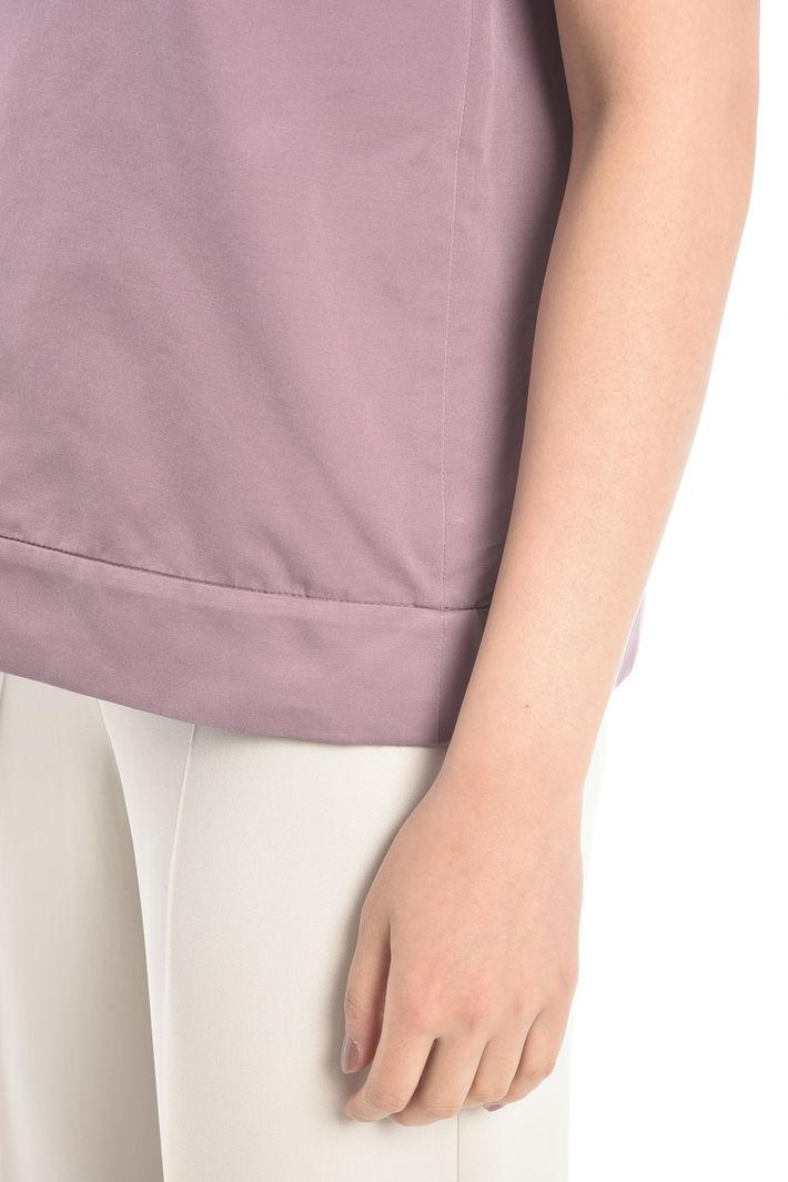 Top in misto cotone con jais Diffusione Tessile