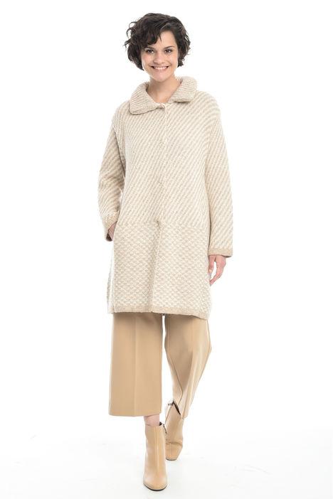 Capospalla in maglia jacquard Diffusione Tessile