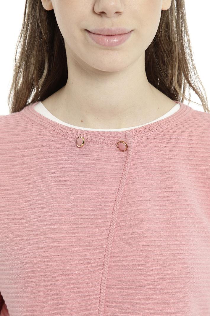 Coprispalle in maglia a costine Diffusione Tessile