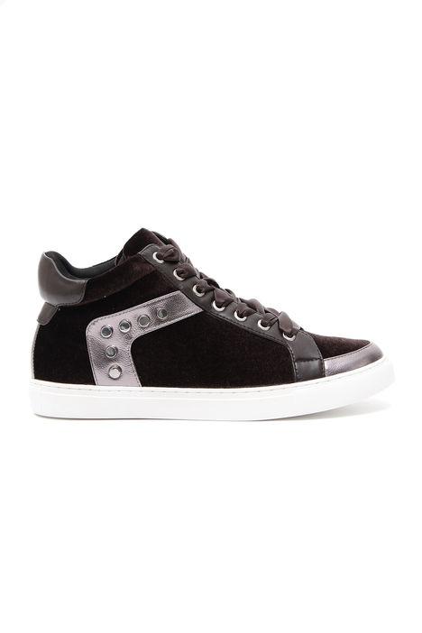 Sneakers in velluto Diffusione Tessile