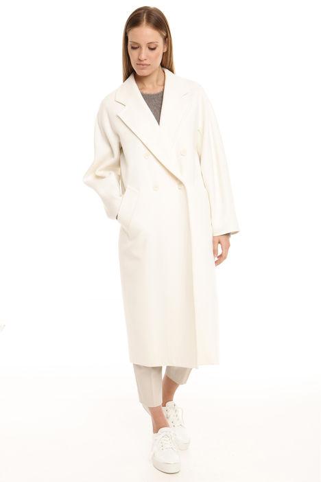 Cappotto lungo in lana vergine Diffusione Tessile