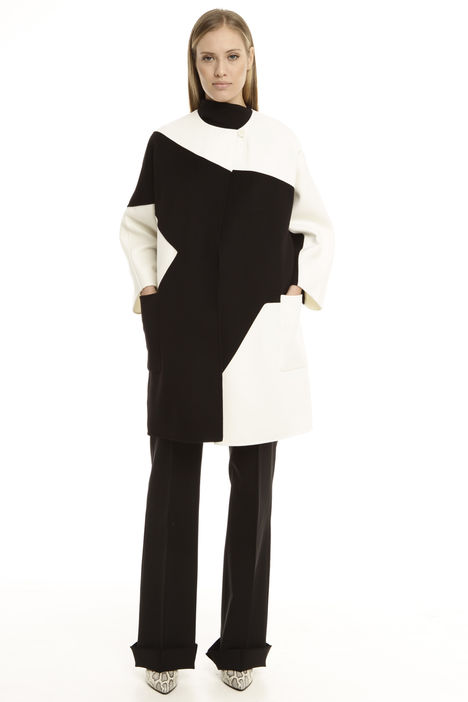 Cappotto color block Intrend