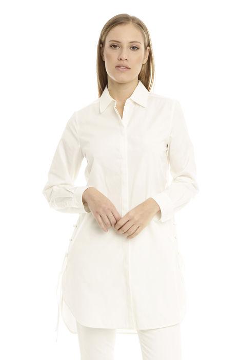 Camicia con laccetti sui lati Diffusione Tessile