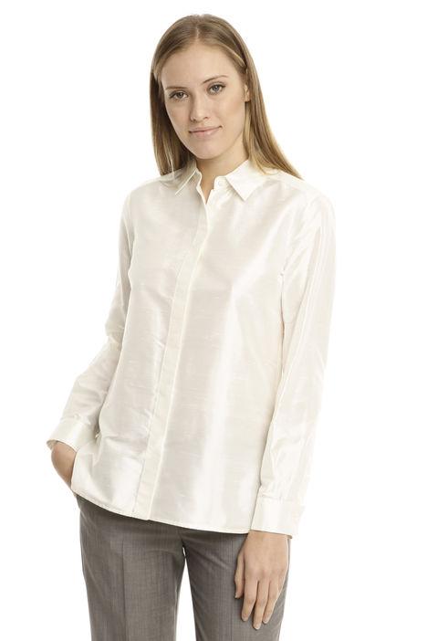 Camicia in shantung di seta Intrend