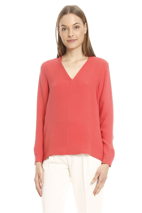 Blusa in georgette pesante Intrend