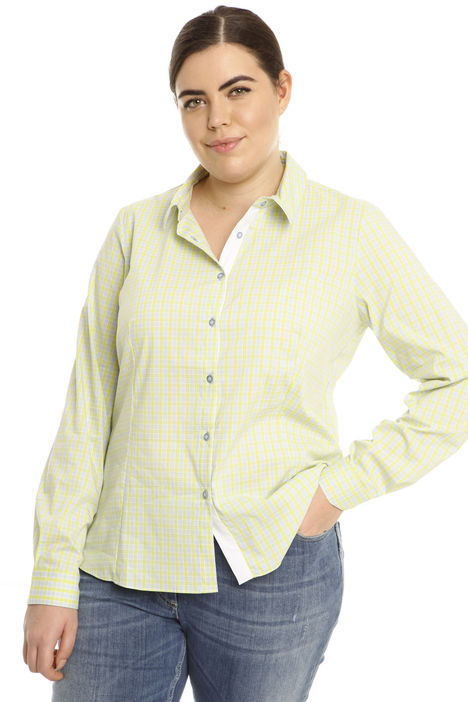 Camicia in cotone stretch Intrend