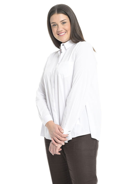 Camicia over in cotone stretch Intrend