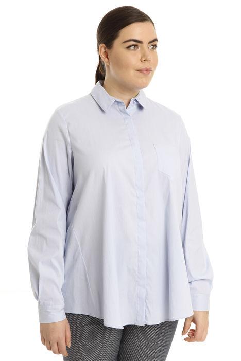 Camicia over in cotone stretch Diffusione Tessile