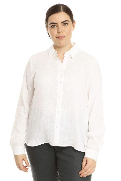 Camicia in lino leggero Diffusione Tessile