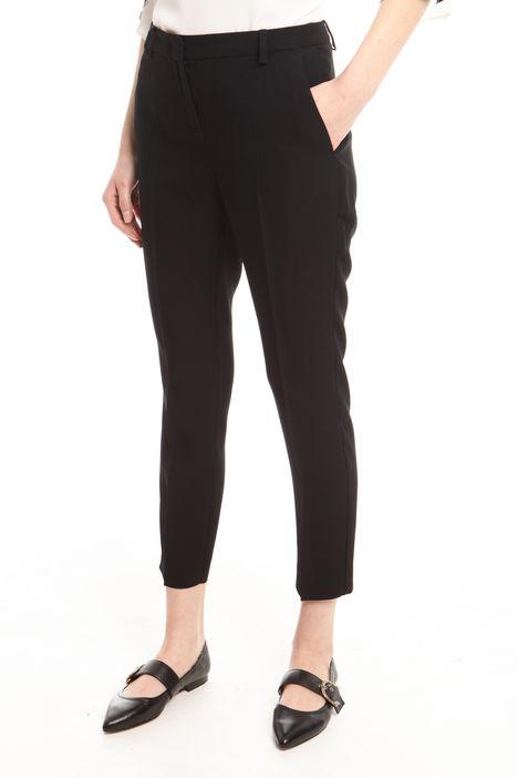 Pantalone in tessuto crepe Intrend
