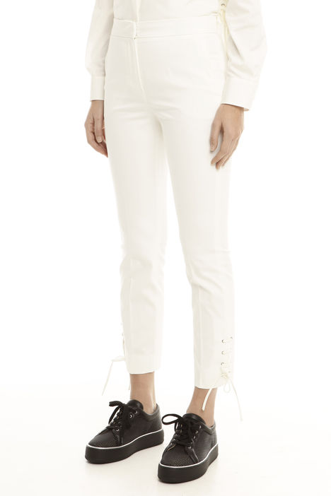 Pantalone con lacci sul fondo Diffusione Tessile