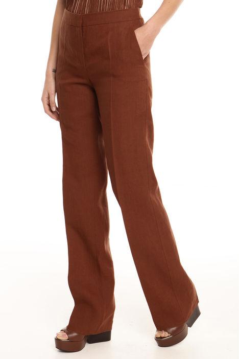 Pantalone in tela di puro lino Intrend