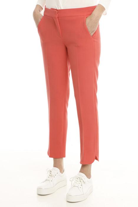 Pantalone in crepe di lana Intrend