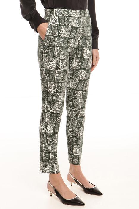 Pantalone in tessuto jacquard Intrend