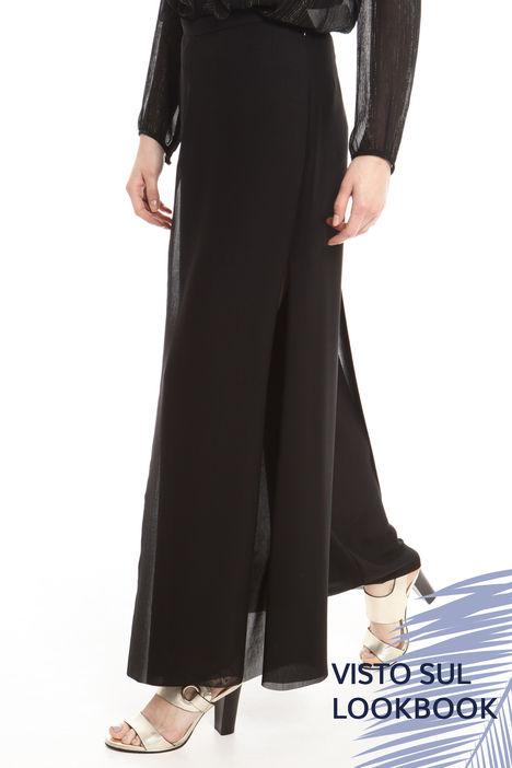 Pantalone ampio con spacchi Intrend