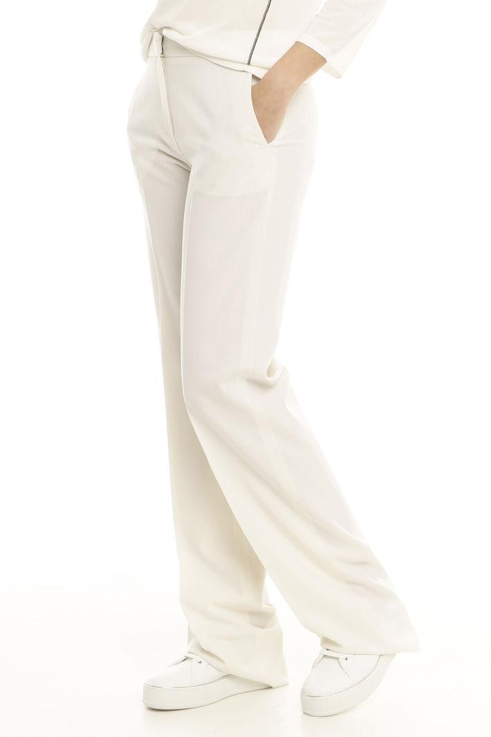 Pantalone in lana stretch Intrend